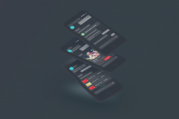 Image showing examples of virtual assistant in dark mode